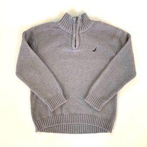 3/$30 ❤️ Nautica Toddler Boy Half Zip Sweater
